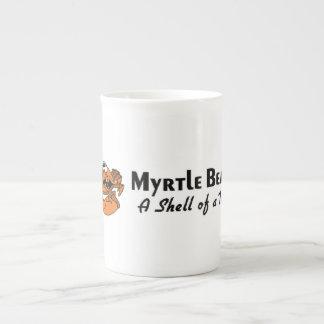 Cangrejo de Myrtle Beach Tazas De China