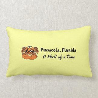 Cangrejo de Pensacola la Florida Almohada