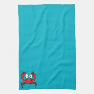 Cangrejo del amor toallas