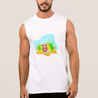 Cangrejo del dibujo animado camisetas sin mangas