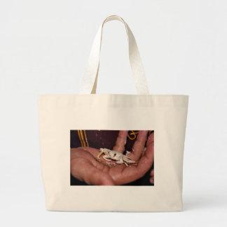 Cangrejo del fantasma bolsas lienzo