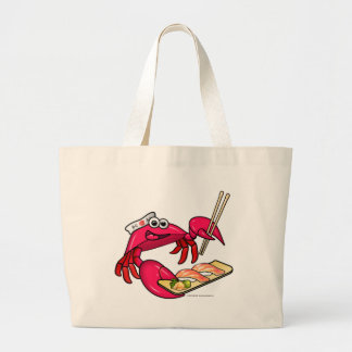 Cangrejo del sushi bolsa de mano