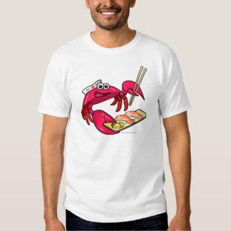 Cangrejo del sushi playeras