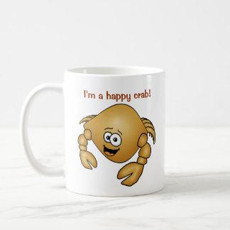 ¡Cangrejo feliz en una taza!
