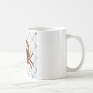 Cangrejo náutico tazas
