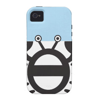 Cangrejo negro Case-Mate iPhone 4 fundas