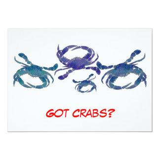 Cangrejos azules del Chesapeake Comunicado