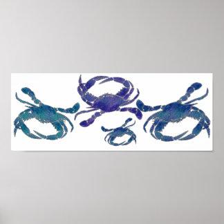 Cangrejos azules del Chesapeake Impresiones
