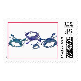 Cangrejos azules del Chesapeake Sellos Postales