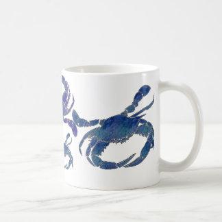 Cangrejos azules del Chesapeake Tazas