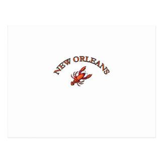 Cangrejos de New Orleans Tarjeta Postal