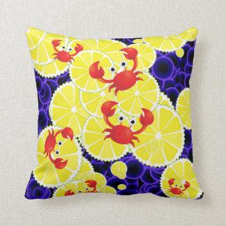 Cangrejos en el limón almohadas