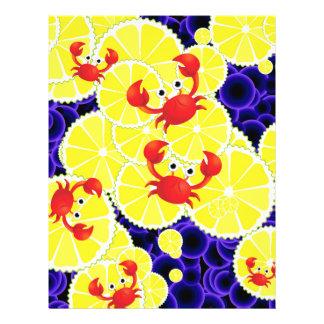 """Cangrejos en el limón folleto 8.5"""" x 11"""""""