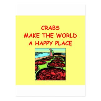 cangrejos postales