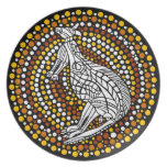 Canguro aborigen platos