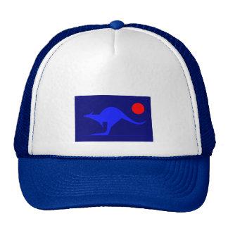 Canguro azul gorros