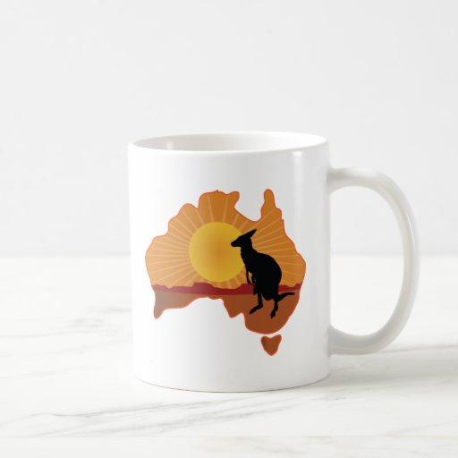 Canguro de Australia Taza