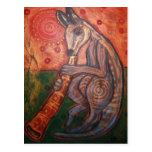 Canguro de Didgeridoo Postal