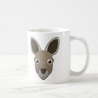 Canguro de papel taza de café