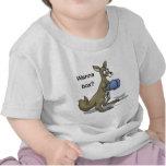Canguro del boxeo camiseta