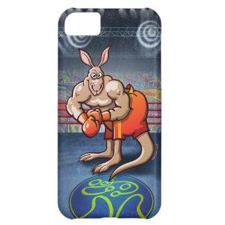 Canguro del boxeo carcasa para iPhone 5C