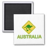 Canguro del fútbol de Australia Iman
