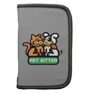 Canguro del mascota gato y perro planificadores