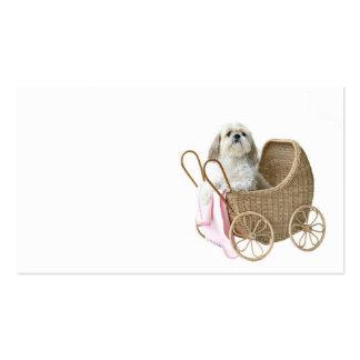Canguro del mascota plantilla de tarjeta personal