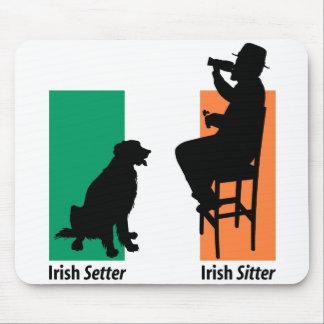 Canguro irlandés Mousepad Alfombrillas De Raton