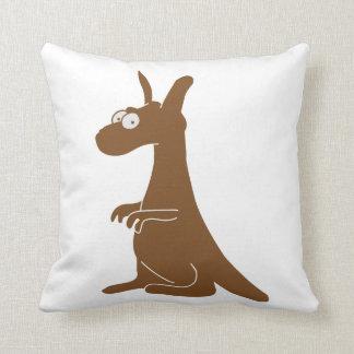 Canguro lindo almohadas
