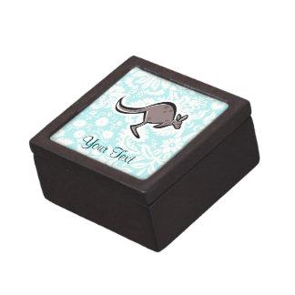 Canguro lindo del dibujo animado cajas de regalo de calidad