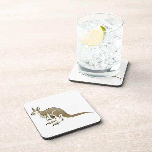 Canguro Posavasos De Bebida