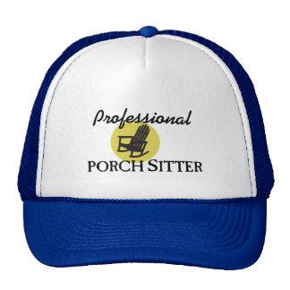 Canguro profesional del pórtico gorras de camionero