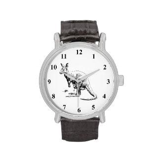 Canguro Relojes De Mano