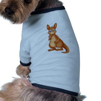 Canguro Camiseta Con Mangas Para Perro