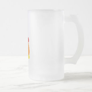 Cangy 16 Oz Frosted Glass Beer Mug