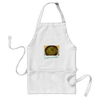 canh chua rau adult apron