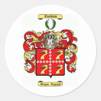 canham classic round sticker