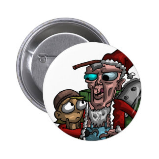 Caníbal Claus Pins