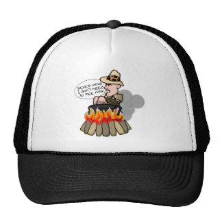 Caníbal que cocina el pote gorras