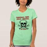 Caníbales divertidos camisetas
