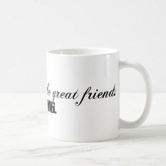 caníbales taza de café