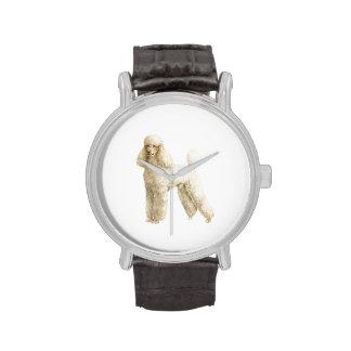 Caniche -- Clip del perrito Relojes