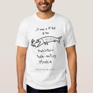 Caniche-Consumición de Muskie Camisas