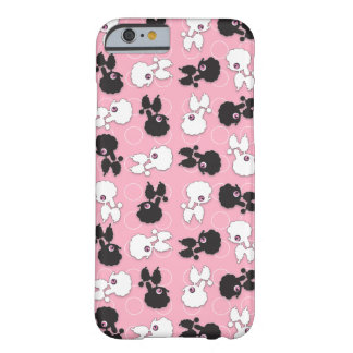 Caniche Cuties en rosa - Funda De iPhone 6 Barely There