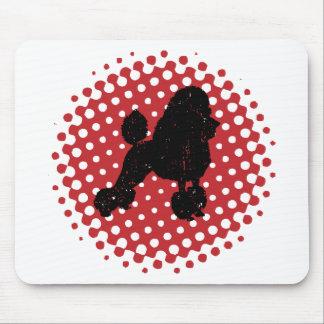 Caniche de juguete alfombrilla de ratón