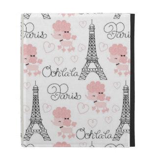 Caniche de Ohlala París y modelo lindos de la torr