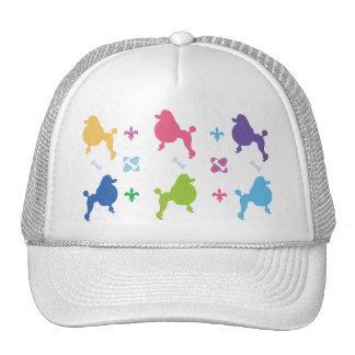 Caniche del diseñador gorras