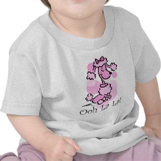 Caniche del La del La de Ooh Camiseta