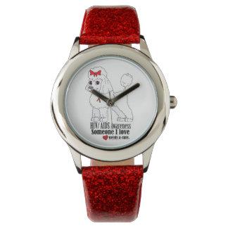 Caniche del SIDA: Alguien sé necesidades una Relojes De Mano